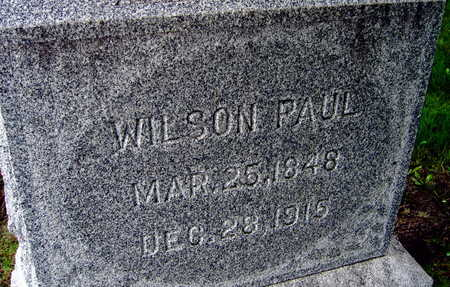 PAUL, WILSON - Linn County, Iowa | WILSON PAUL