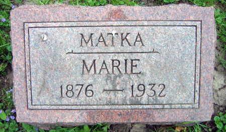 PAVEK, MARIE - Linn County, Iowa | MARIE PAVEK