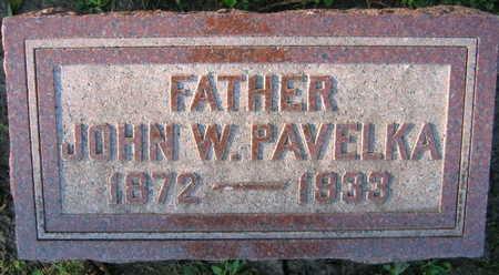 PAVELKA, JOHN W. - Linn County, Iowa | JOHN W. PAVELKA