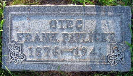 PAVLICEK, FRANK - Linn County, Iowa | FRANK PAVLICEK