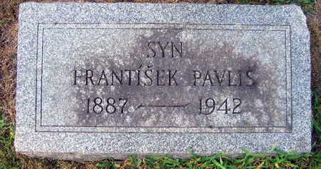 PAVLIS, FRANTISEK - Linn County, Iowa | FRANTISEK PAVLIS