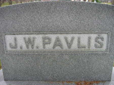 PAVLIS, J. W. FAMILY - Linn County, Iowa | J. W. FAMILY PAVLIS