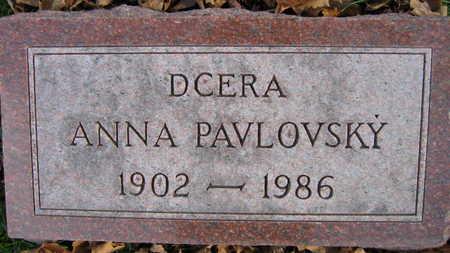PAVLOVSKY, ANNA - Linn County, Iowa | ANNA PAVLOVSKY