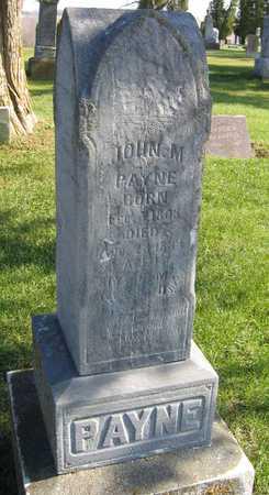 PAYNE, JOHN M. - Linn County, Iowa | JOHN M. PAYNE