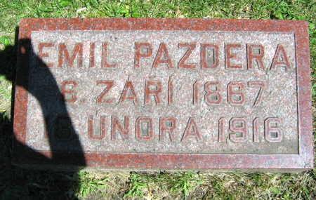 PAZDERA, EMIL - Linn County, Iowa | EMIL PAZDERA
