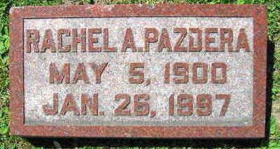 PAZDERA, RACHEL A. - Linn County, Iowa | RACHEL A. PAZDERA