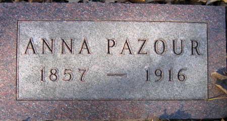 PAZOUR, ANNA - Linn County, Iowa   ANNA PAZOUR