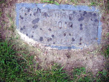 PAZOUR, BERTHA M. - Linn County, Iowa | BERTHA M. PAZOUR