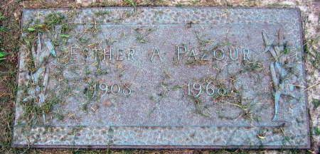 PAZOUR, ESTHER A. - Linn County, Iowa | ESTHER A. PAZOUR