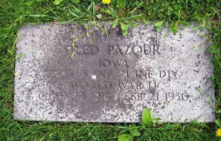 PAZOUR, FRED - Linn County, Iowa | FRED PAZOUR