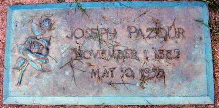 PAZOUR, JOSEPH - Linn County, Iowa | JOSEPH PAZOUR