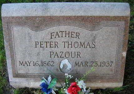 PAZOUR, PETER THOMAS - Linn County, Iowa   PETER THOMAS PAZOUR