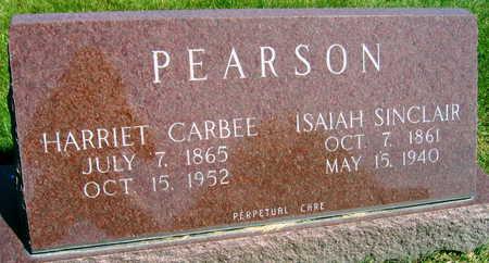 CARBEE PEARSON, HARRIET - Linn County, Iowa | HARRIET CARBEE PEARSON