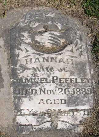 PEFFLEY, HANNAH - Linn County, Iowa   HANNAH PEFFLEY