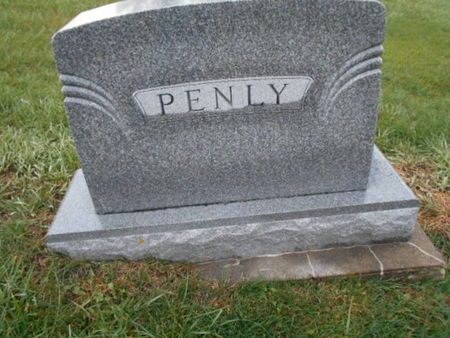 PENLY, FAMILY STONE - Linn County, Iowa | FAMILY STONE PENLY