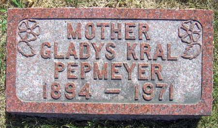 KRAL PEPMEYER, GLADYS - Linn County, Iowa | GLADYS KRAL PEPMEYER