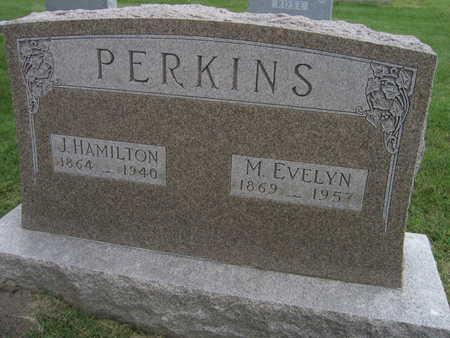 PERKINS, M. EVELYN - Linn County, Iowa | M. EVELYN PERKINS