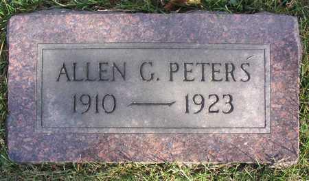 PETERS, ALLEN G. - Linn County, Iowa | ALLEN G. PETERS