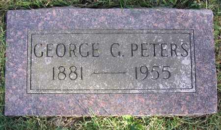 PETERS, GEORGE G. - Linn County, Iowa | GEORGE G. PETERS