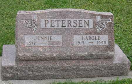PETERSEN, HAROLD - Linn County, Iowa   HAROLD PETERSEN