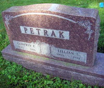 PETRAK, LILLIAN L. - Linn County, Iowa | LILLIAN L. PETRAK