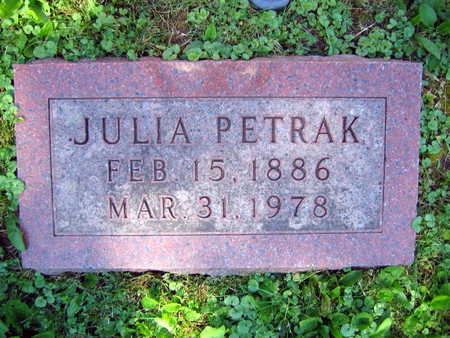 PETRAK, JULIA - Linn County, Iowa | JULIA PETRAK