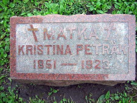 PETRAK, KRISTINA - Linn County, Iowa | KRISTINA PETRAK