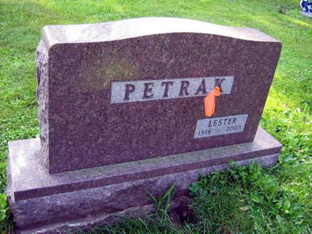 PETRAK, LESTER - Linn County, Iowa | LESTER PETRAK