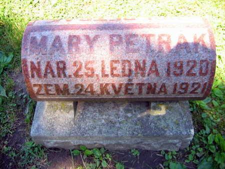 PETRAK, MARY - Linn County, Iowa | MARY PETRAK