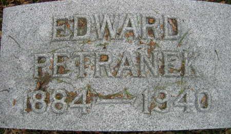 PETRANEK, EDWARD - Linn County, Iowa | EDWARD PETRANEK