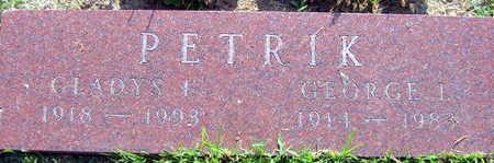 PETRIK, GEORGE L. - Linn County, Iowa | GEORGE L. PETRIK