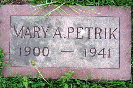 PETRIK, MARY A. - Linn County, Iowa | MARY A. PETRIK