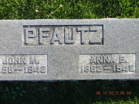 PFAUTZ, JOHN M. - Linn County, Iowa   JOHN M. PFAUTZ