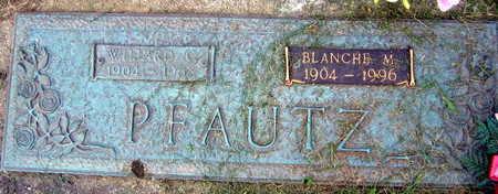 PFAUTZ, BLANCHE M. - Linn County, Iowa | BLANCHE M. PFAUTZ
