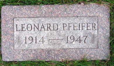 PFEIFER, LEONARD - Linn County, Iowa | LEONARD PFEIFER