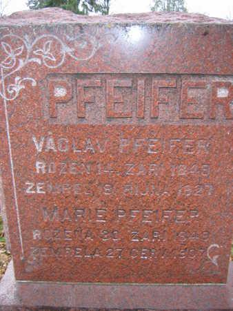 PFEIFER, VACLAV - Linn County, Iowa | VACLAV PFEIFER