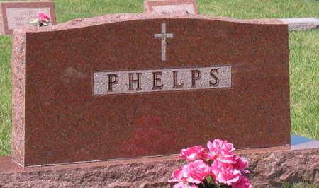 PHELPS, FAMILY STONE - Linn County, Iowa | FAMILY STONE PHELPS