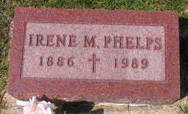 PHELPS, IRENE M. - Linn County, Iowa   IRENE M. PHELPS