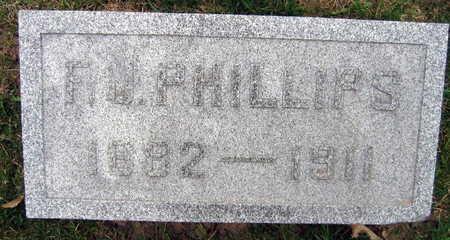 PHILLIPS, F.G. - Linn County, Iowa | F.G. PHILLIPS