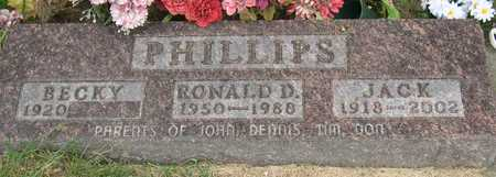 PHILLIPS, RONALD D. - Linn County, Iowa | RONALD D. PHILLIPS