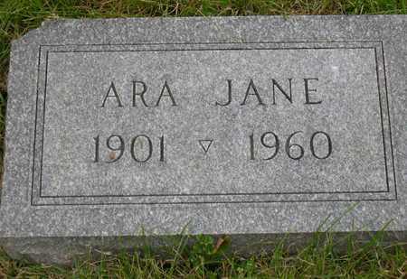 PHILLIPSON, ARA JANE - Linn County, Iowa   ARA JANE PHILLIPSON