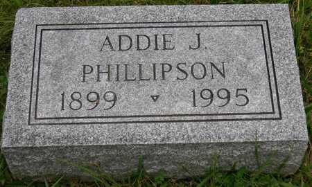 PHILLIPSON, ADDIE J. - Linn County, Iowa   ADDIE J. PHILLIPSON