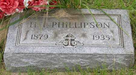 PHILLIPSON, H.T. - Linn County, Iowa | H.T. PHILLIPSON