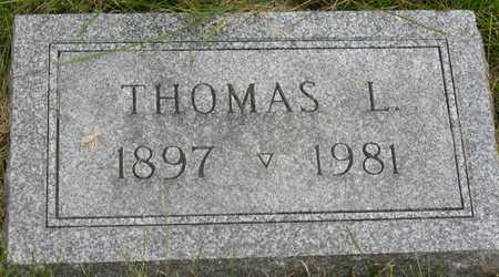PHILLIPSON, THOMAS L. - Linn County, Iowa   THOMAS L. PHILLIPSON