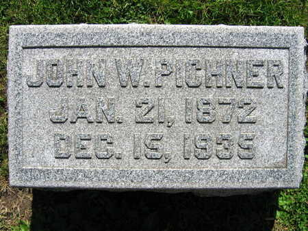 PICHNER, JOHN W. - Linn County, Iowa   JOHN W. PICHNER