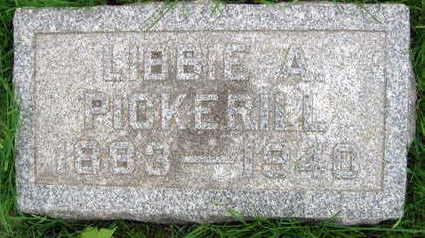 PICKERILL, LIBBIE A. - Linn County, Iowa | LIBBIE A. PICKERILL