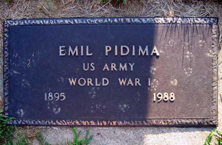 PIDIMA, EMIL - Linn County, Iowa | EMIL PIDIMA