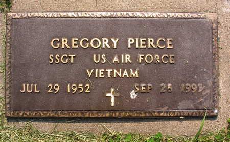 PIERCE, GREGORY - Linn County, Iowa   GREGORY PIERCE