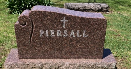 PIERSALL, FAMILY STONE - Linn County, Iowa | FAMILY STONE PIERSALL