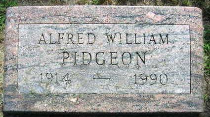PIDGEON, ALFRED WILLIAM - Linn County, Iowa   ALFRED WILLIAM PIDGEON